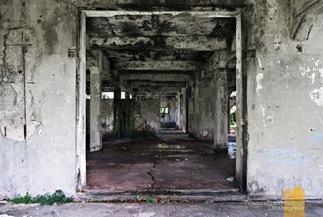 Decaying Empty Halls at Corregidor's Mile Long Barracks