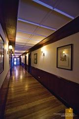 Corregidor Inn's Corridor