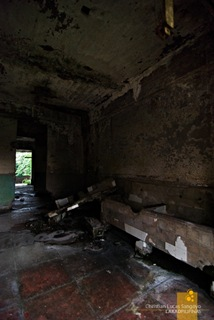 Corregidor's Old Hospital's Forbidding Interior