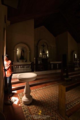 Corregidor Church Cleaner