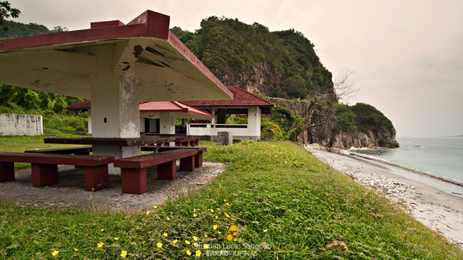 Pavillions Lining Up Corregidor's South Beach