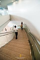 NAIA III Stairwell