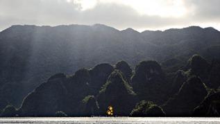 Morning Light on Coron Island