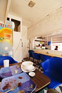 Tita Esh Eatery's Spartan Interior