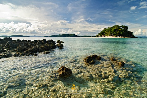 The Rocky Northern Part of Bulog Dos Island in Coron