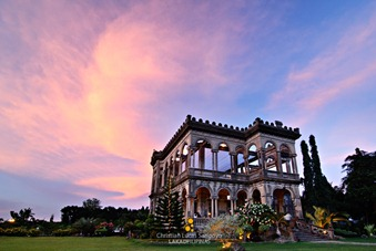 Sunset at Bacolod's The Ruins