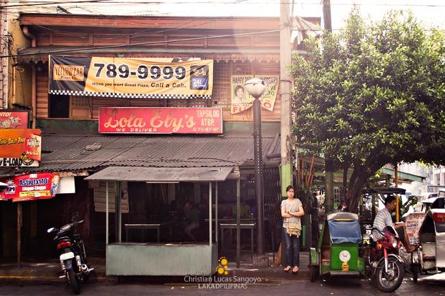 Facade of Lola Ely's Tapsilog in Manila