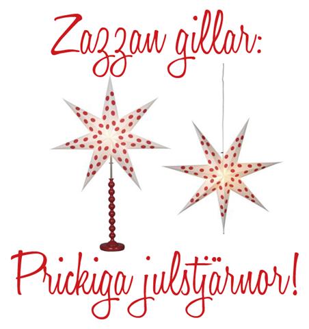 prickiga julstjärnor