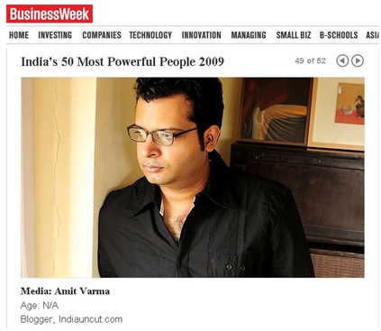 an indian blogger is among indias most powerful people