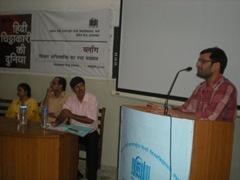 yashwant speaking in seminar
