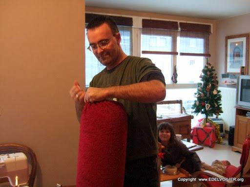 Sérage des chaussettes de pare-battage