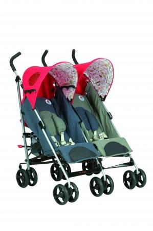 carros gemelares Nurse Pareo en criandomultiples.blogspot.com