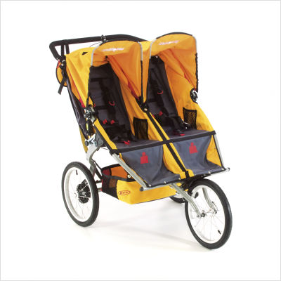 BOB Ironman Sport Utility Duallie criandomultiples.blogspot.com carros_gemelares