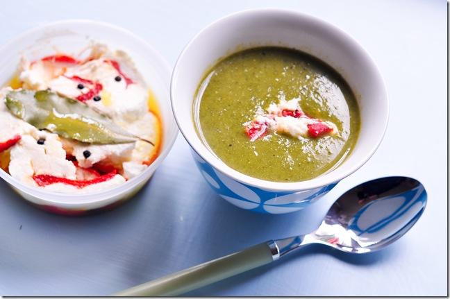 kale broccoli soup