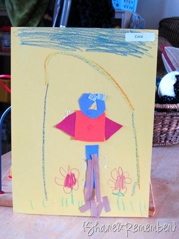 Shape Birds Preschool Art