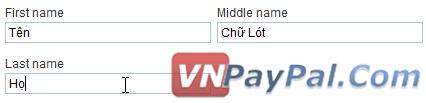 Đặt Tên Thế Nào Cho Đúng Khi Đăng Kí Tài Khoản PayPal?