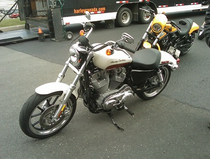 2011 Sportster Superlow 833