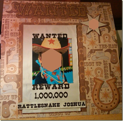 Wanted page