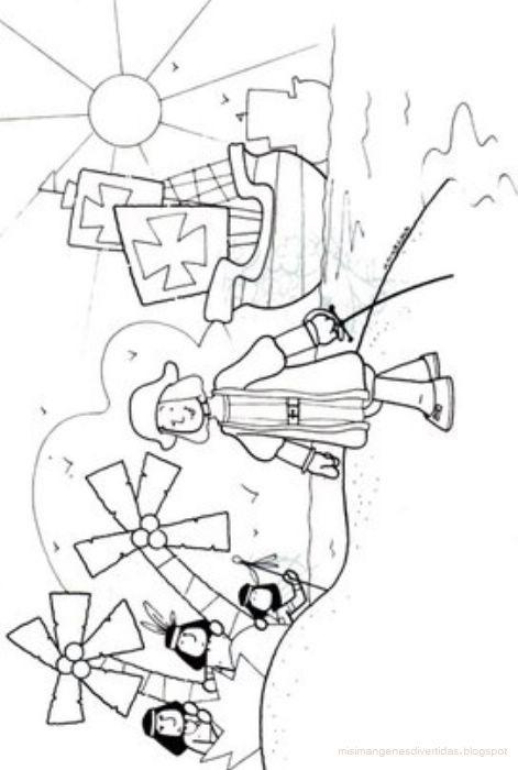 Dibujos para colorear Cristbal Coln y las carabelas  Colorear