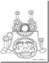 dia de los muertos mexico www.colorear (4)