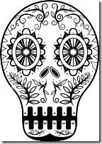 dia de los muertos mexico www.colorear (2)