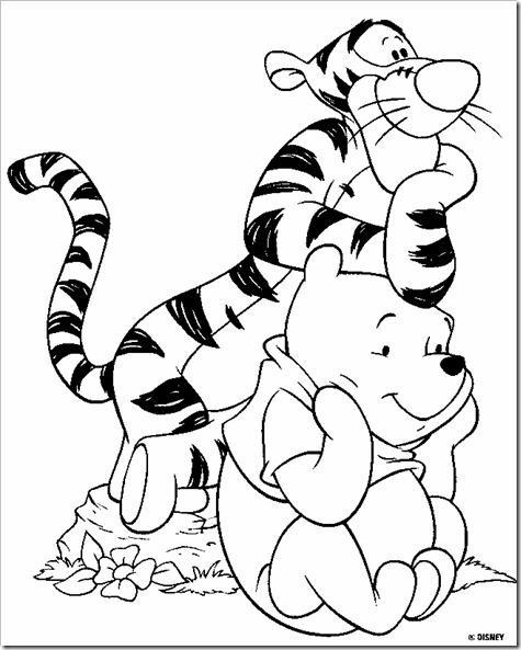 colorear tigger de winniee the pooh (8)