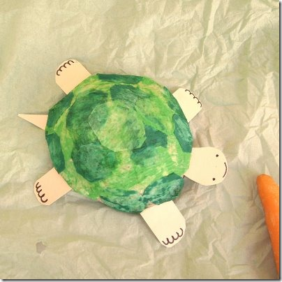 tortuga de papel pinocho y cart%C3%B3n