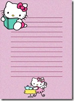 papel carta hello kitty blogcolorear (12)