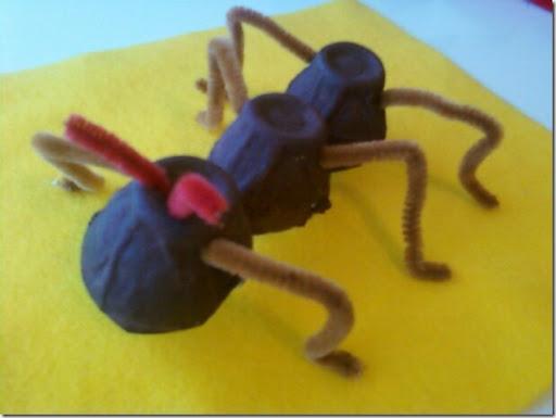 Como hacer una hormiga con fomi - Imagui