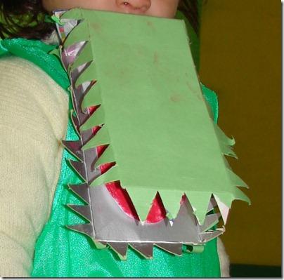 cocodrilo hecho con tetrabrik