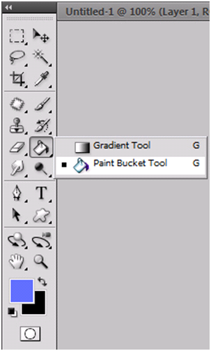 What Does The Paint Bucket Tool Do In Photoshop