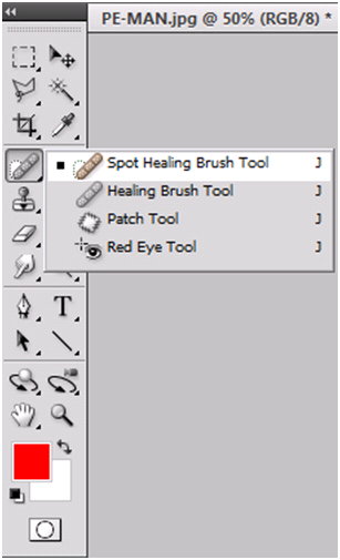 Spot Healing Brush Toolbox