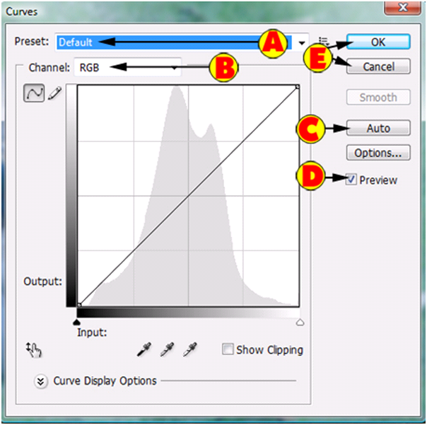 Curves Dialog Overview