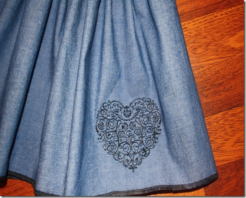 Sierra's Denim Skirt 003