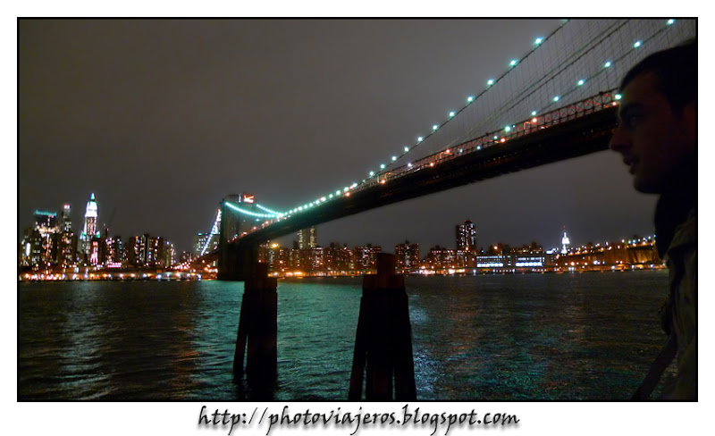 Empire State y puente de Brooklyn