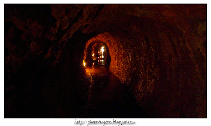 Tunel de salida de Gruta Iris