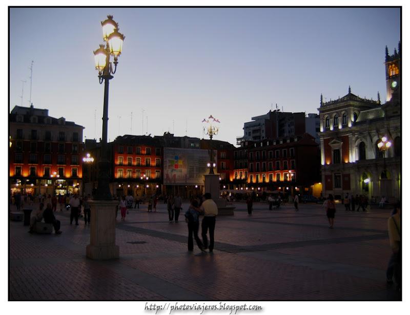 Atardecer en Valladolid