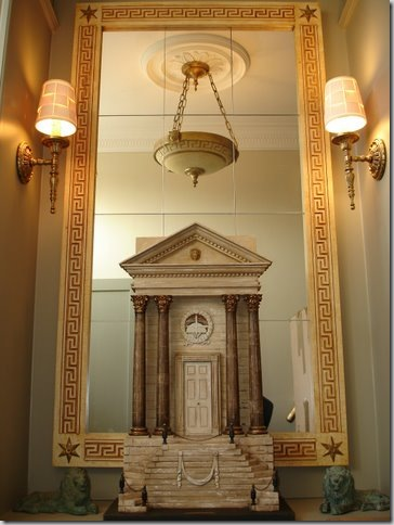 ,Temples,Portustemple&Greekbowlceilinglamp&Lyonwalllamp.