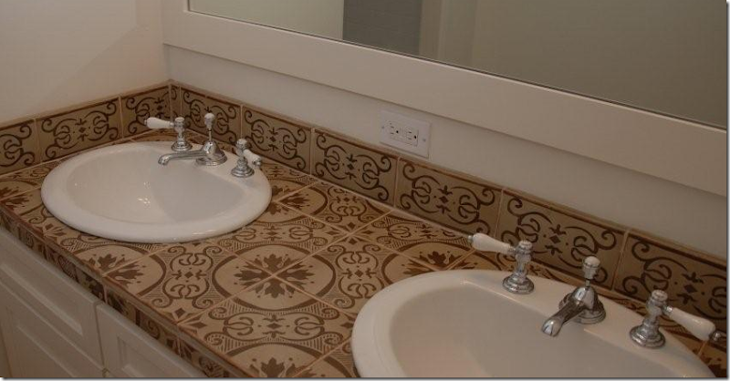 Architectural Design Resources And Dal Tile Provided The Unique Tiles In All Secondary Baths