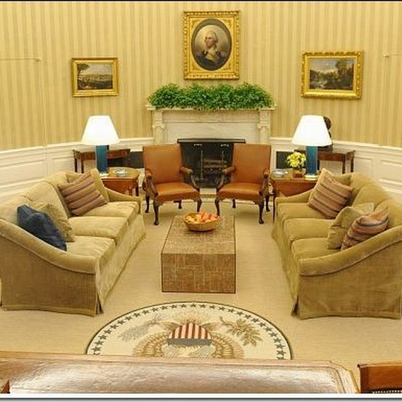 The Oval Office: Before & After!!