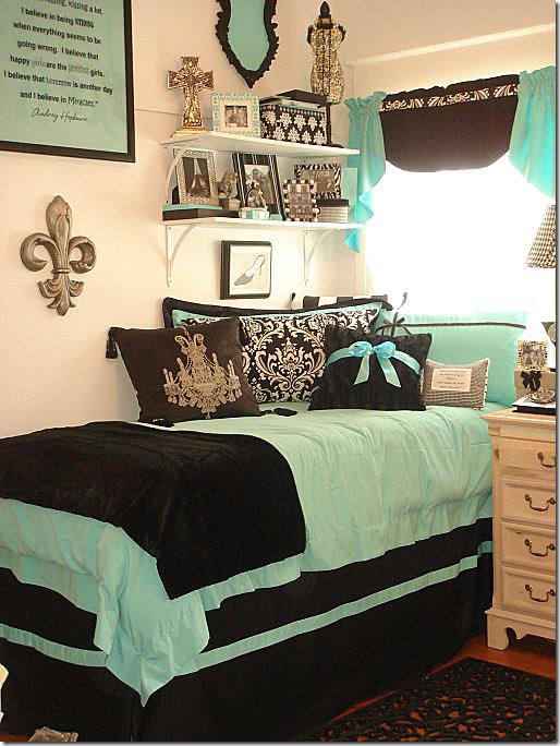 Decorating Ideas > COTE DE TEXAS Elisabeth's Dorm Room ~ 175258_Black Dorm Room Ideas