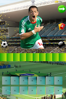Screenshot of Quiz Futbolistas Brasil 2014