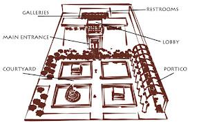Amy Bird Philae Art Museum 2009 SketchUp 1