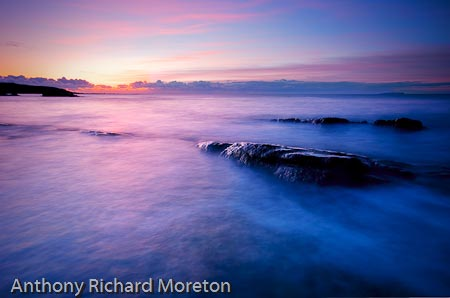 A February sunrise at Roome Bay, Crail