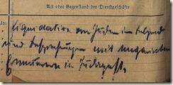 Reisekostenabrechnung - Nazizeit
