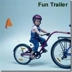 Прицепной велосипед
