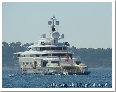 Яхта Pelorus, собственность Романа Абрамовича