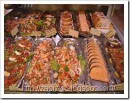 Канны, магазинчик морепродуктов