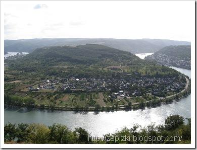 Вид на Рейн возле Боппарда