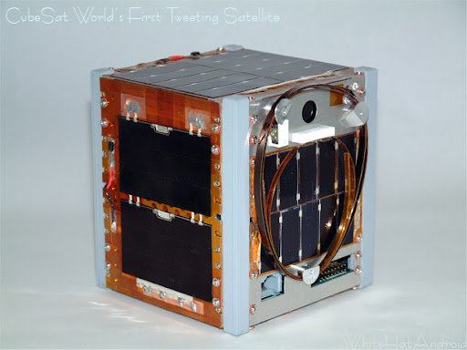CubeSat XI-IV the world's first tweeting satellite from outer space Image
